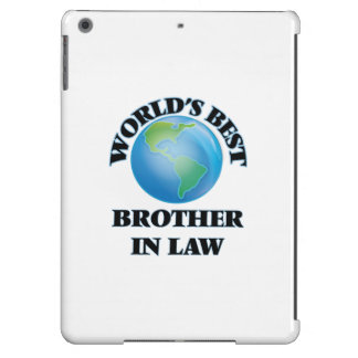 World's Best Brother-in-Law iPad Air Cover