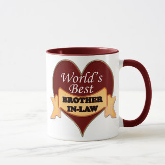 World's Best Brother-In-Law Mug