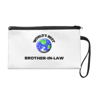 World's Best Brother-In-Law Wristlet Clutches