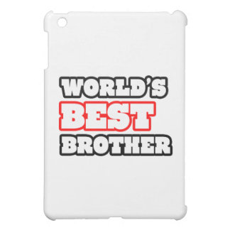 World's Best Brother iPad Mini Cover