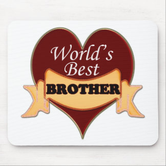 World's Best Brother Mouse Pad