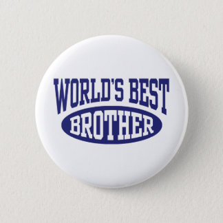 World's Best Brother Pinback Button