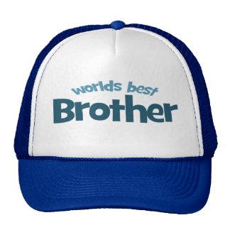 Worlds Best Brother Trucker Hat