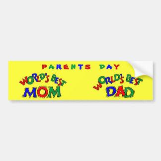 Worlds Best - Bumper Sticker