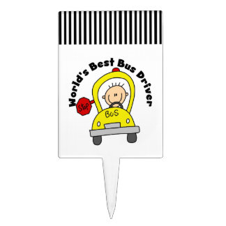 School Bus Cake Toppers | Zazzle