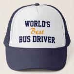 "World&#39;s best bus driver cap<br><div class=""desc"">World&#39;s best bus driver cap</div>"