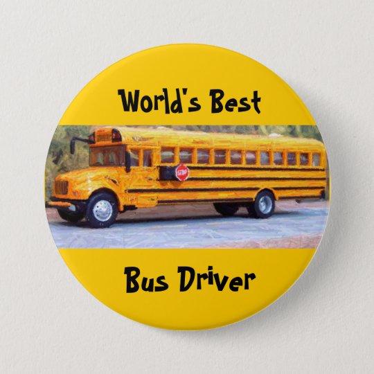 World's Best, Bus Driver Pinback Button