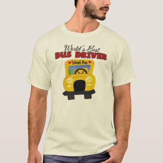 World's Best Bus Driver T-Shirt
