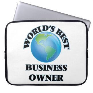 World's Best Business Owner Laptop Sleeve
