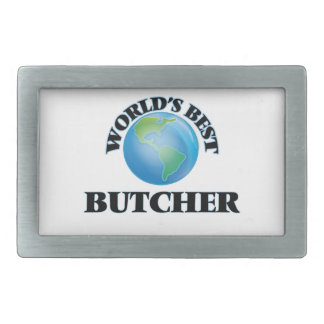 World's Best Butcher Belt Buckle