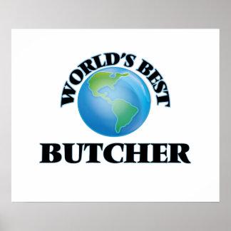 World's Best Butcher Print
