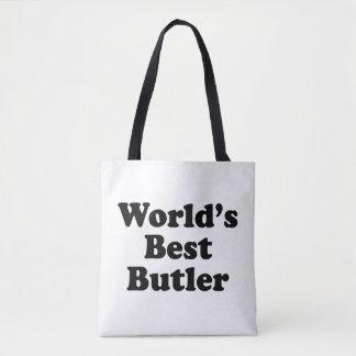 World's Best Butler Tote Bag