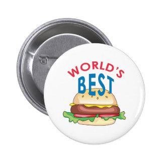 World's Best Pinback Buttons