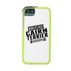 Graft Concepts Leverage iPhone 5/5S Case with Cairn Terrier Phone Cases design
