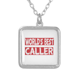 World's Best Caller. Custom Necklace