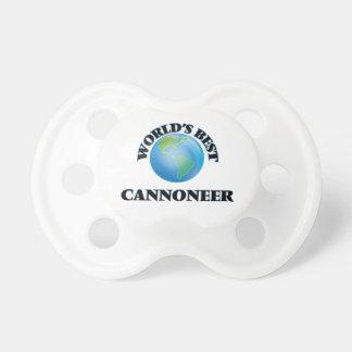 World's Best Cannoneer BooginHead Pacifier