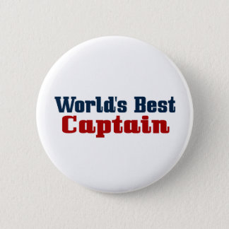 Worlds Best Captain Button