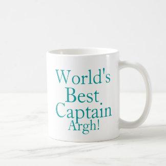 Worlds Best Captain Coffee Mug
