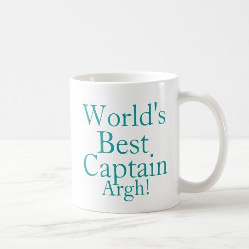 Worlds Best Captain Coffee Mugs