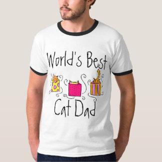 World's Best Cat Dad Tee Shirt
