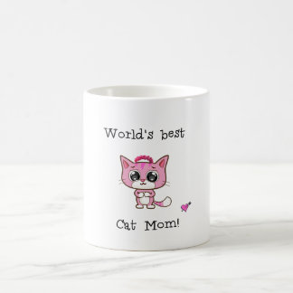 World's best Cat Mom! Coffee Mug