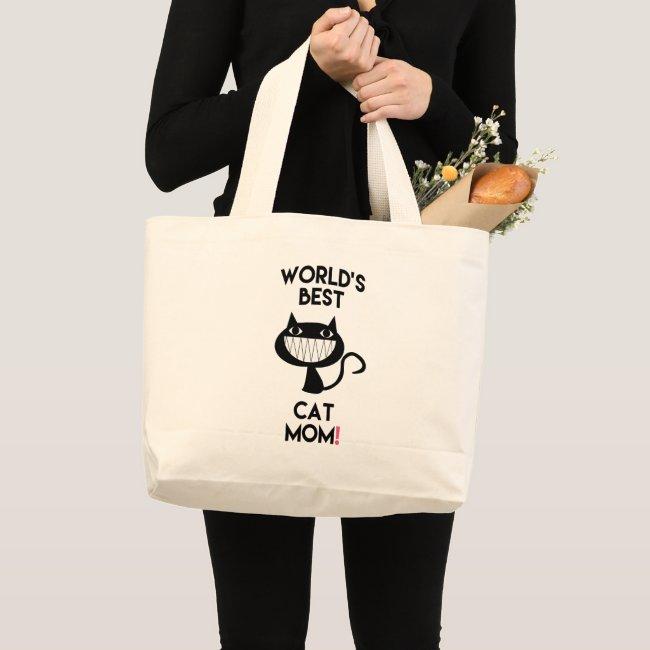 World's best cat mom! Fun Tote Bag