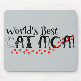 World's Best Cat Mom Mousepad