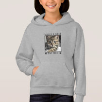World's Best Cat Mom Paw Prints Cat Photo Frame Hoodie