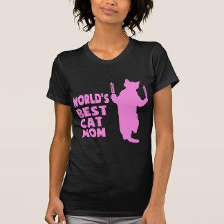 World's Best Cat Mom(Pink) Tshirts