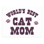 World's Best Cat Mom Post Cards