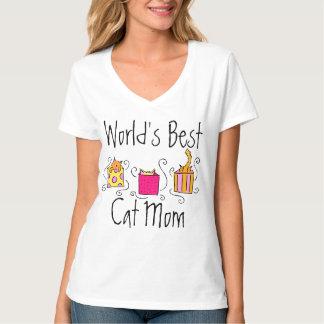 World's Best Cat Mom Shirt