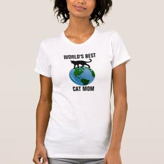 World's Best Cat Mom T-shirts