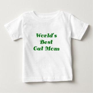Worlds Best Cat Mom Tshirts
