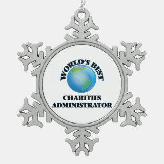 World's Best Charities Administrator Ornaments