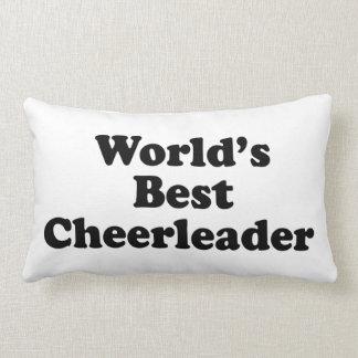 World's Best Cheerleader Throw Pillows