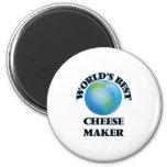 World's Best Cheese Maker 2 Inch Round Magnet