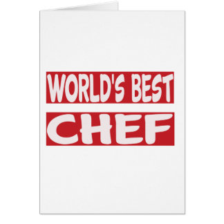 World's Best Chef. Cards