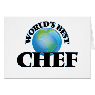 World's Best Chef Cards