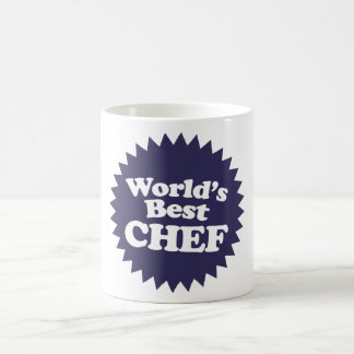 World's Best Chef Classic White Coffee Mug