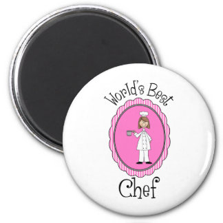 World's Best Chef - Female - Gifts and Tees Magnet