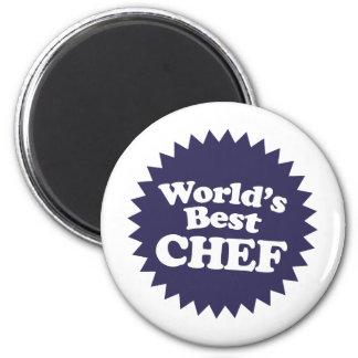 World's Best Chef Fridge Magnet