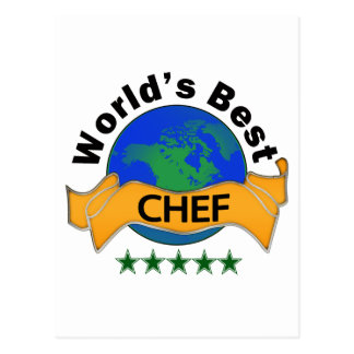 World's Best Chef Post Card