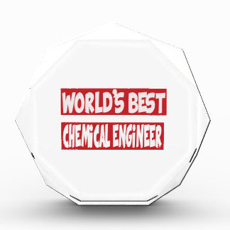 World's Best Chemical Engineer. Acrylic Award