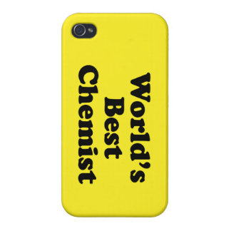 World's Best Chemist Cover For iPhone 4