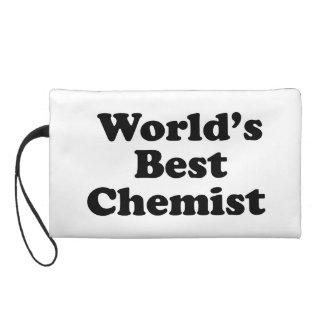 World's Best Chemist Wristlet