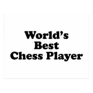 World's Best Chess Player Postcard