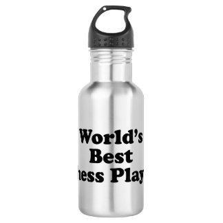 World's Best Chess Player Water Bottle