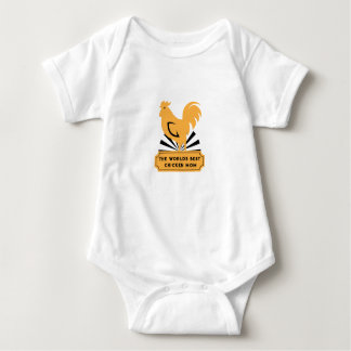 World's Best Chicken Mom Funny Mothers Day Gifts Baby Bodysuit
