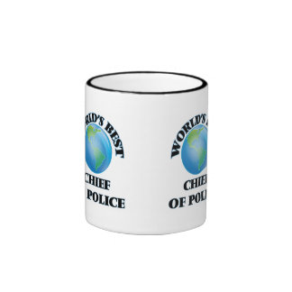 World's Best Chief Of Police Mugs