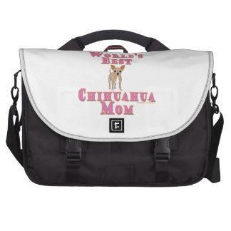World's Best Chihuahua Mom Computer Bag